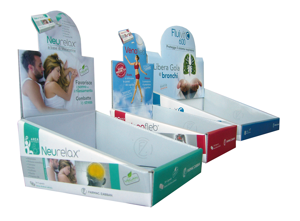 counter cardboard display stands