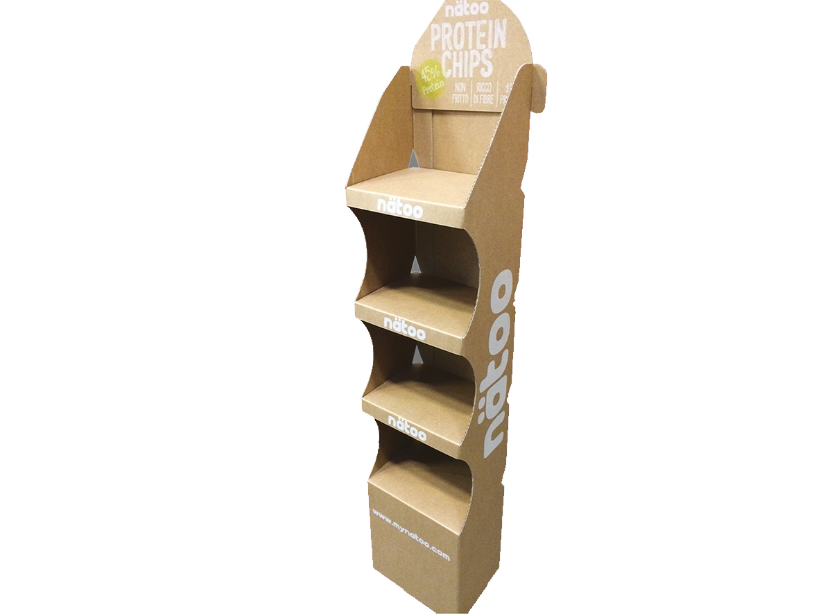 FLOOR DISPLAY STANDS CARDBOARD
