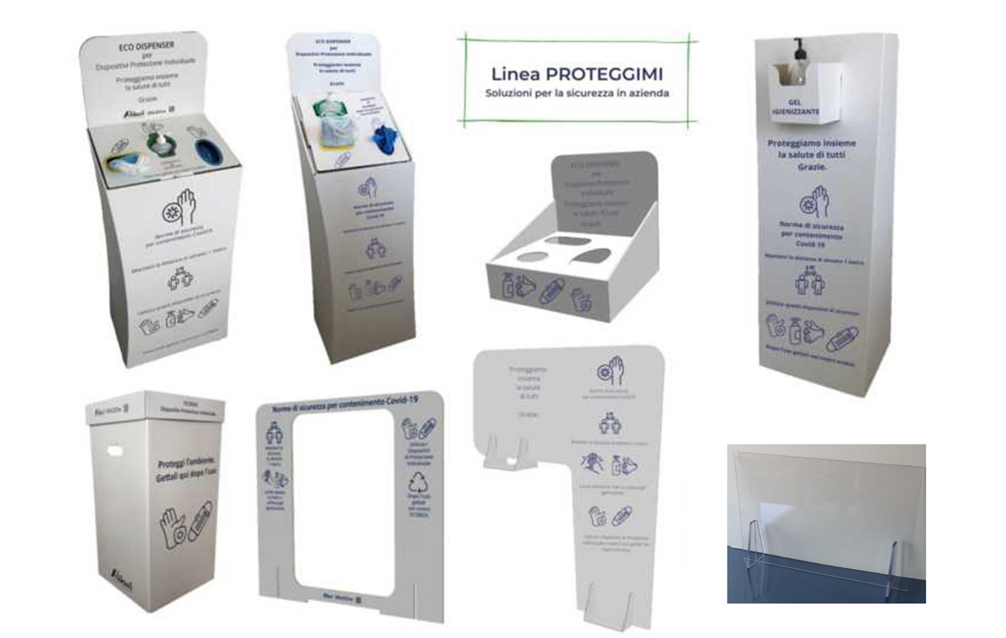 Dispositivi di protezione Linea Proteggimi