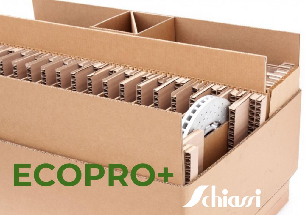 imballaggio ecosostenibile ECOPRO+