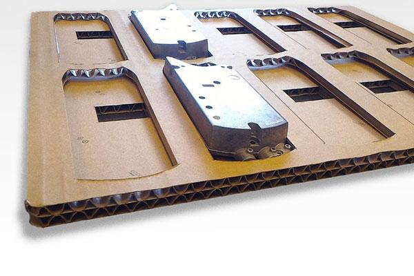 Imballaggio interno in cartone ondulato