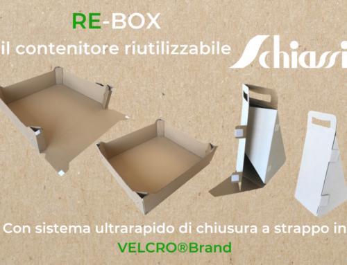Scatole riusabili RE-box per una spinta propulsiva all'economia circolare italiana